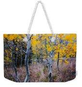 Aspens In Autumn Weekender Tote Bag