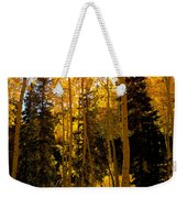 Aspens In Fall Weekender Tote Bag