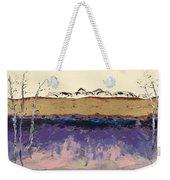 Aspens In Winter Weekender Tote Bag