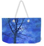 Asphalt-tree Abstract Refection 02 Weekender Tote Bag