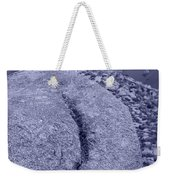 Ass Crack New Mexico In Cyan Weekender Tote Bag