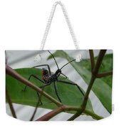 Assassin Bug Weekender Tote Bag