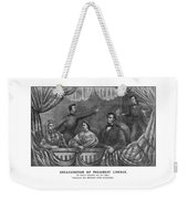 Assassination Of President Lincoln Weekender Tote Bag