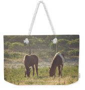 Assateague Island Wild Ponies Weekender Tote Bag