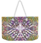 Assent From The Womb In The Flower Tree Of Life Weekender Tote Bag