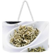 Assortment Of Dry Tea Leaves In Spoons Weekender Tote Bag