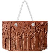Assyrian Queen, 645 B.c Weekender Tote Bag