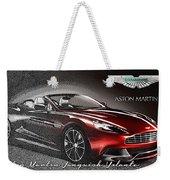 Aston Martin Vanquish Volante  Weekender Tote Bag
