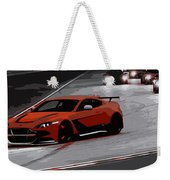 Aston Martin Vantage Gt12 Weekender Tote Bag