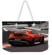 Aston Martin Vantage Gt12 - Trackday Weekender Tote Bag