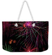 Astonishing Fireworks Weekender Tote Bag