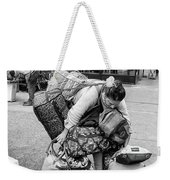 Bag Lady Weekender Tote Bag by Eric Lake