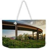 Astoria Bridge Sunrise Weekender Tote Bag