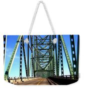 Astoria-megler Bridge Weekender Tote Bag
