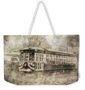 Astoria Trolley Weekender Tote Bag