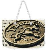 Astrological Definition In Taurus Weekender Tote Bag