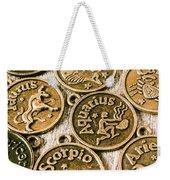 Astrology Charms Weekender Tote Bag
