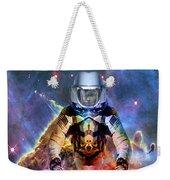 Astronaut Disintegration Weekender Tote Bag