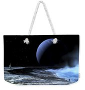 Astronaut Standing On The Edge Weekender Tote Bag
