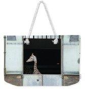 Asymmetrical Giraffe  Weekender Tote Bag