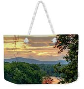At A Bend In The River Weekender Tote Bag by Kendall McKernon
