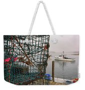 At Anchor On Cape Porpoise Weekender Tote Bag