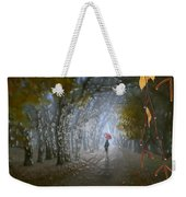 At Autumn Park Weekender Tote Bag