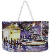 At Boat House 3 Weekender Tote Bag