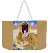 At Days End Weekender Tote Bag