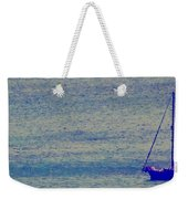 At Evening Anchor Weekender Tote Bag