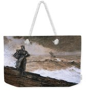 At High Sea Weekender Tote Bag by Winslow Homer