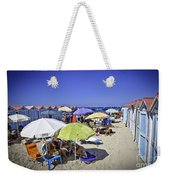 At Mondello Beach - Sicily Weekender Tote Bag