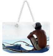 At Others I Just Sit Weekender Tote Bag