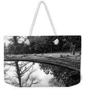 At Peace Weekender Tote Bag by Donna Blackhall