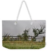 At Peters Canyon In The Rain 1 Weekender Tote Bag