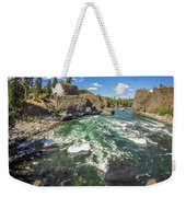At Riverside Bowl And Pitcher State Park In Spokane Washington Weekender Tote Bag