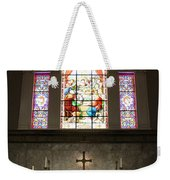 At The Altar In Church Of The Presidents Weekender Tote Bag