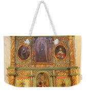 At The Alter San Miguel Mission Santa Fe New Mexico Weekender Tote Bag