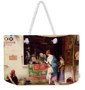 At The Antiquarian Weekender Tote Bag