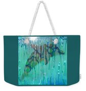 At The Aquarium Weekender Tote Bag