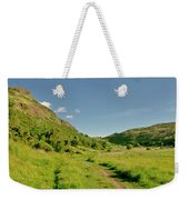 At The Base Of The Ancient Volcano. Weekender Tote Bag
