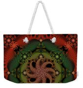 At The Bottom Of The Sea Coral Weekender Tote Bag