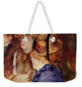 At The Cafe 1877 Weekender Tote Bag
