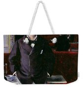 At The Cafe Rouen Weekender Tote Bag