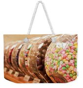 At The Candy Store Weekender Tote Bag