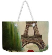 At The Eiffel Tower Weekender Tote Bag