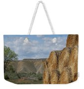 At The End Of Nowhere Road Weekender Tote Bag
