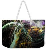 At The End Of The Cosmos Weekender Tote Bag