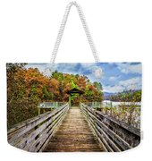 At The End Of The Dock Weekender Tote Bag