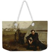 At The Front Weekender Tote Bag by George Cochran Lambdin